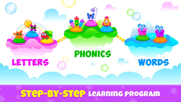 ABC Phonics Kids Reading Games screenshot-7