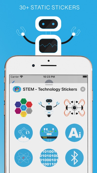 STEM - Technology Stickers screenshot 2