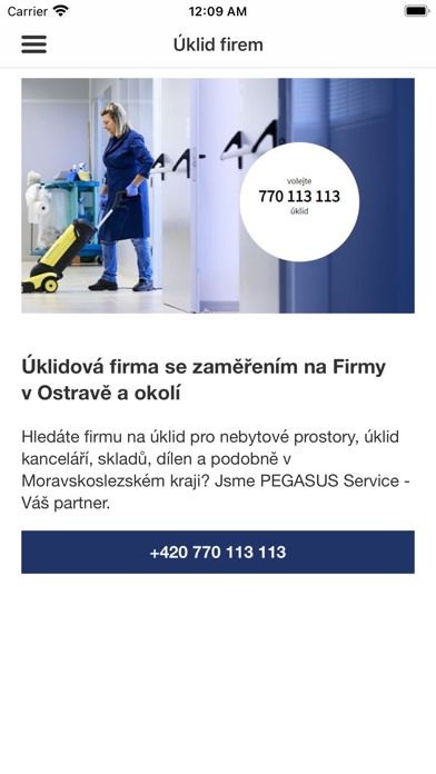 PEGASUS Service screenshot 3
