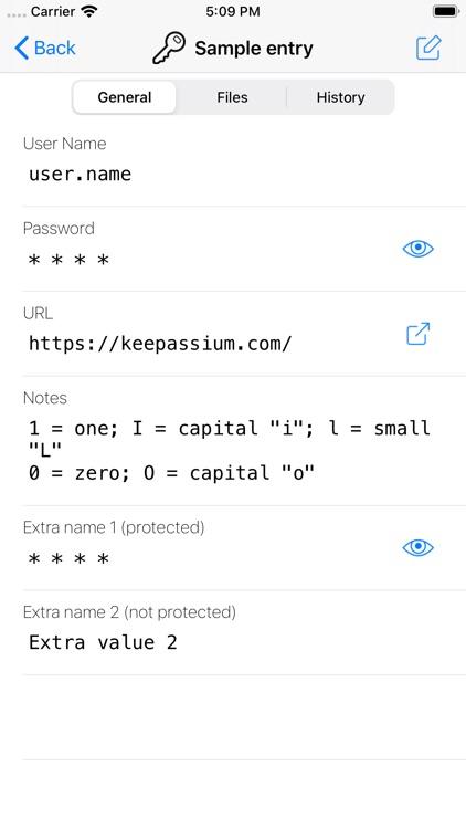 KeePassium Pro (KeePass) screenshot-3