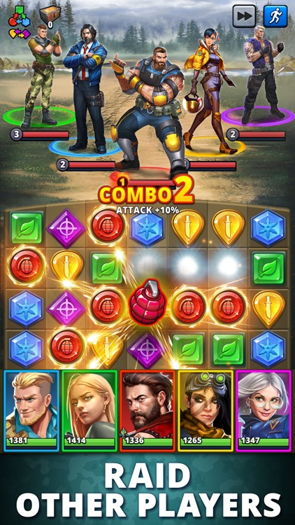 Puzzle Combat: Match-3 RPG screenshot-3