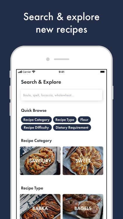 Kneady: Bread Recipes & Baking
