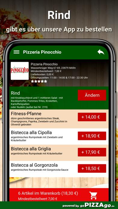 Pizzeria Pinocchio Mölln screenshot 6