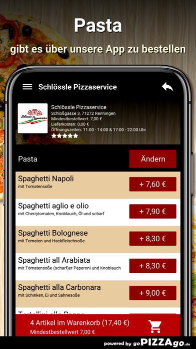 Schlössle Pizzaservice screenshot 6