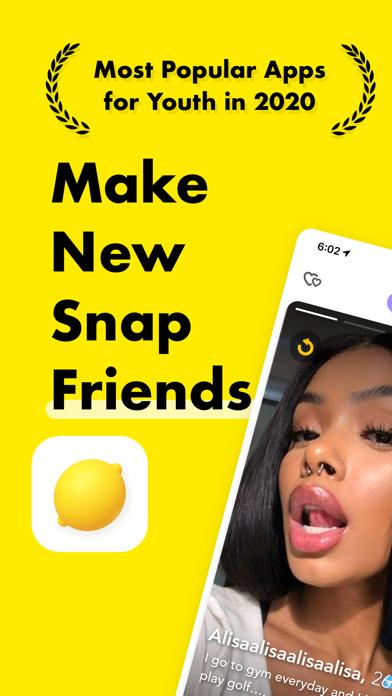 Lemon: Find Friends Nearby Screenshot