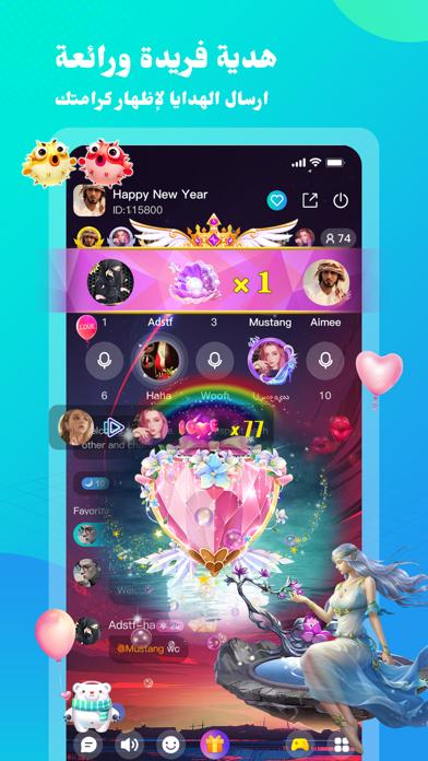 TimLive-Group Voice Chat Roomلقطة شاشة3