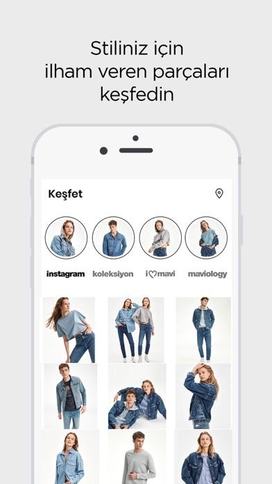 Mavi iphone ekran görüntüleri