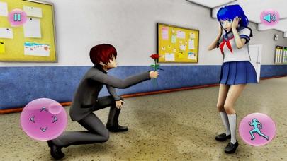 Anime School 3D Girl Simulator Screenshot on iOS