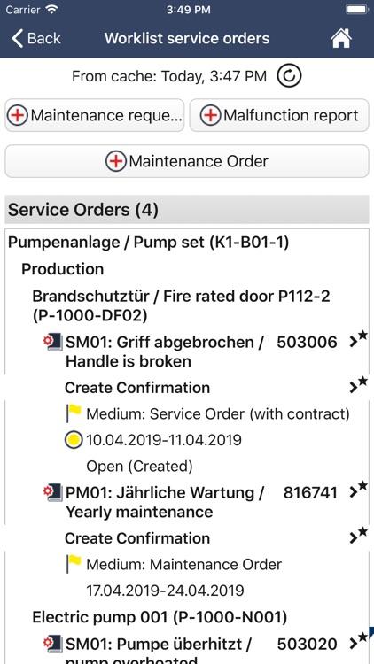 ISEC7 for SAP® solutions screenshot-3