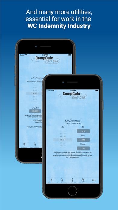 CompCalc Plus Screenshots