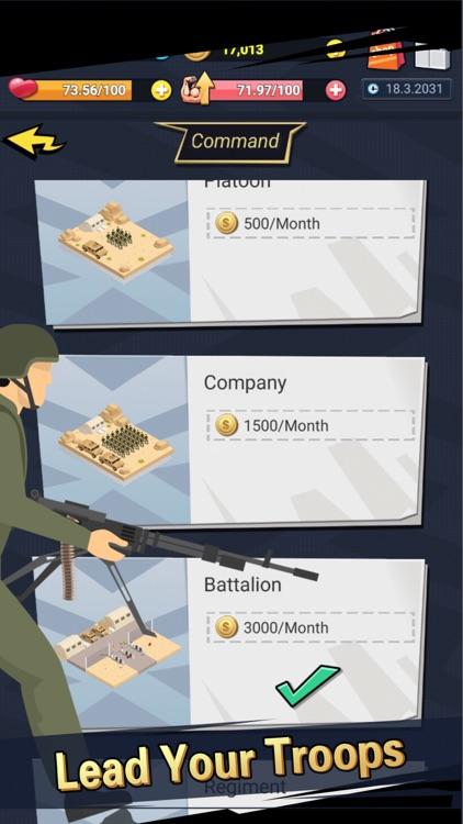 Soldier Life Simulator Games screenshot-4