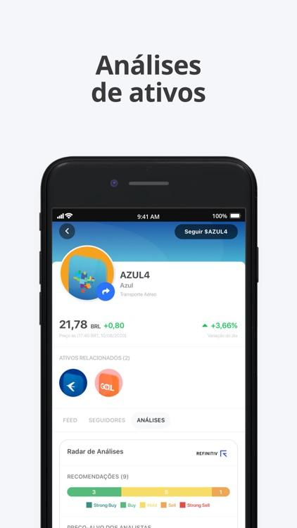 Leadr: Rede Social e Simulador screenshot-4