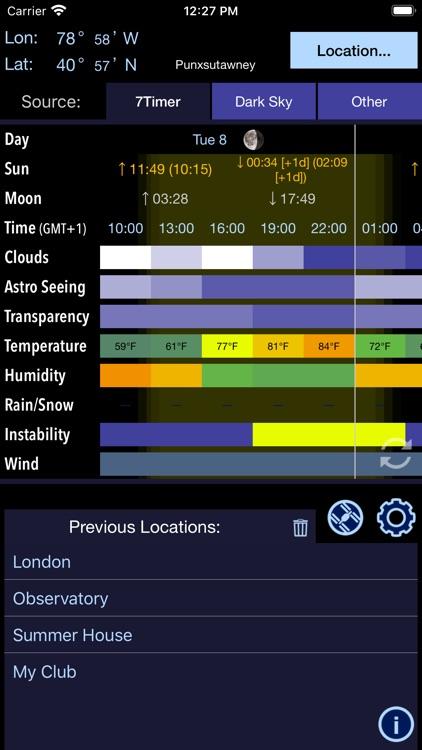 Xasteria Plus - Astro Weather screenshot-5