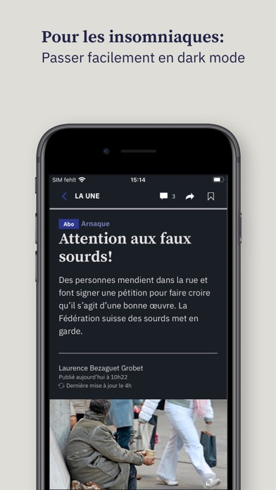 点击获取Tribune de Genève mobile