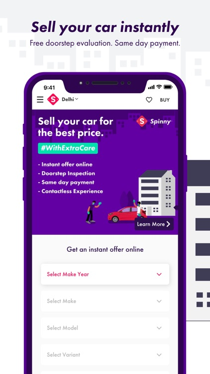 Spinny: Buy and Sell Used Cars screenshot-3