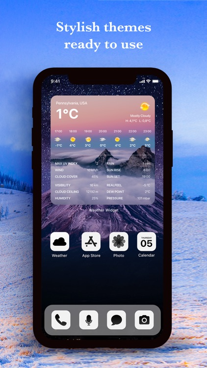 Weather Widget App screenshot-4