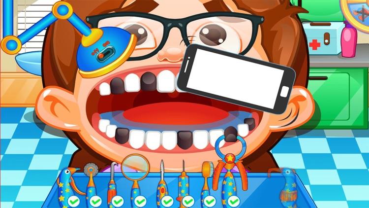 Fun Mouth Doctor, Dentist Game screenshot-3