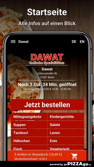 Dawat Berlin Essen screenshot 2