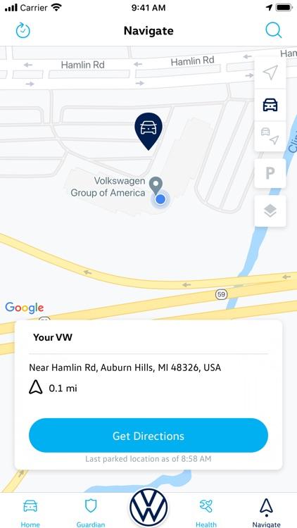 Volkswagen Car-Net screenshot-4