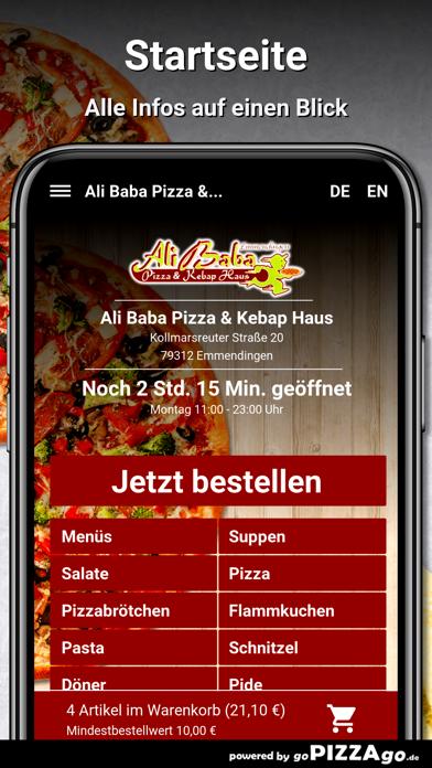 Ali Baba Pizza Emmendingen screenshot 2