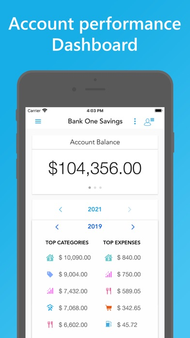 Скриншот №2 к Easy Spending Budget.