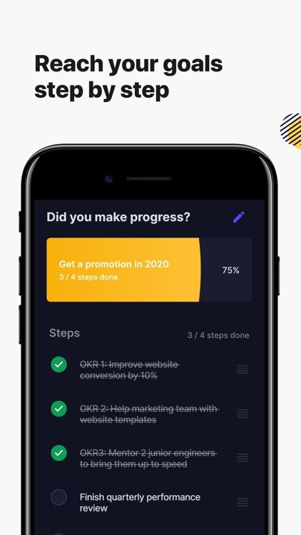 Higher Goals - Habit Tracker screenshot-6