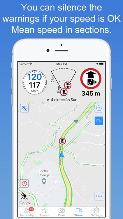 Skip Cams: Cam detector screenshot-6
