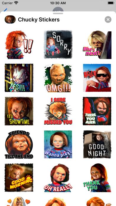 Chucky Stickers screenshot 2