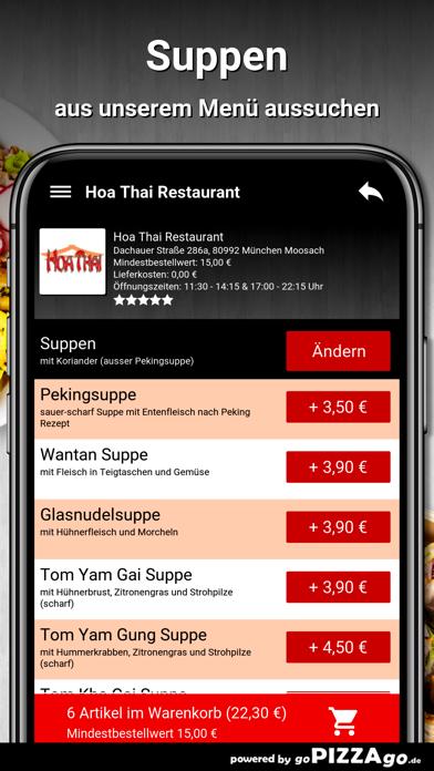 Hoa Thai Restaurant München screenshot 5