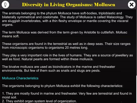 Diversity in Living: Mollusca screenshot 9