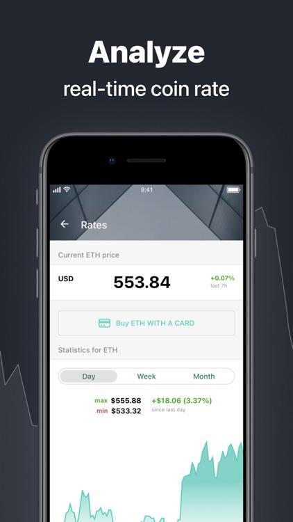 Ethereum Wallet - Freewallet screenshot-3