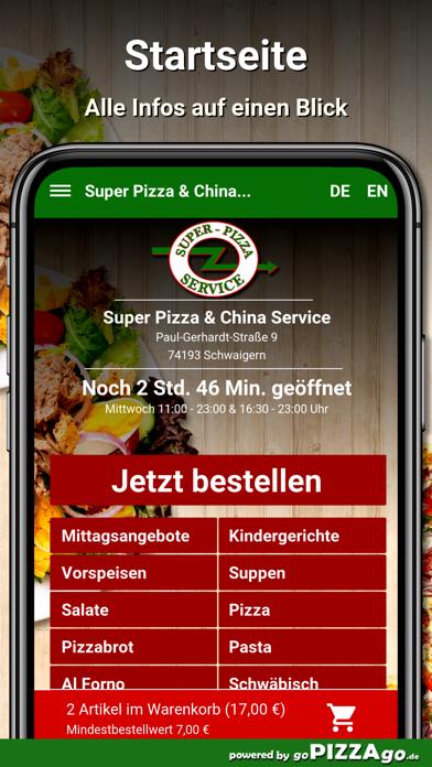 Super Pizza Schwaigern screenshot 2
