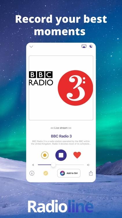 Radioline live radio & podcast screenshot-4