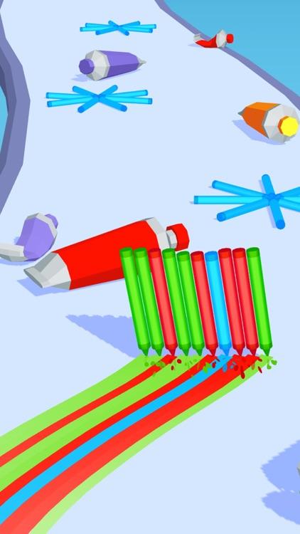 Pencil Rush 3D screenshot-3