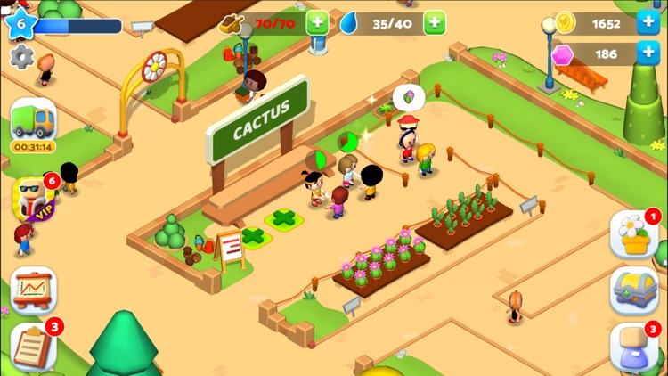 Plant Shop Tycoon - Idle Game screenshot-4