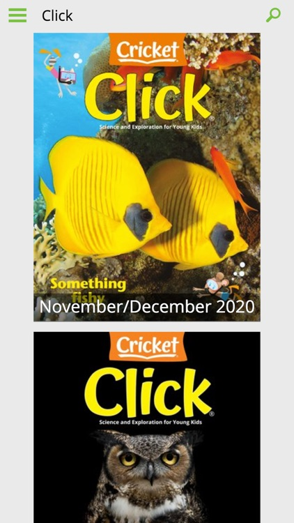 Click Mag: Science and Nature