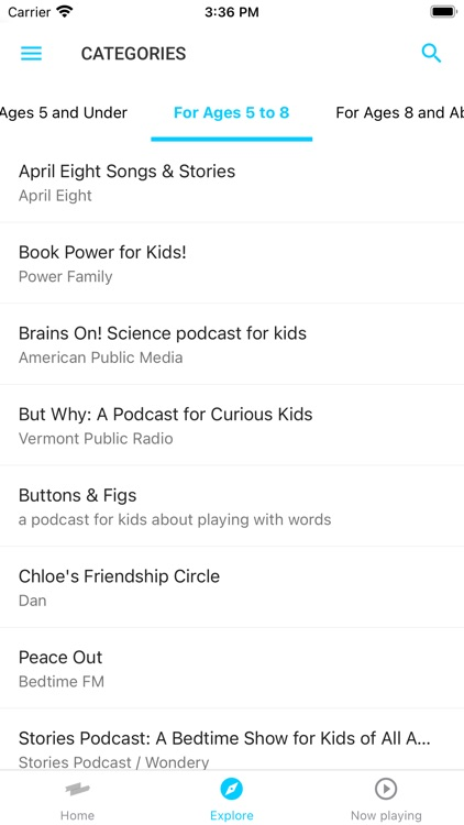 Kids Listen: Podcasts for kids screenshot-4