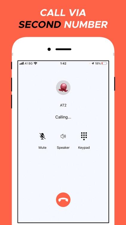 Second Phone Number screenshot-4