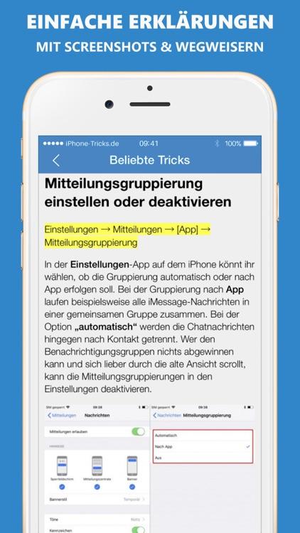 Tricks fürs iPhone (Pro)