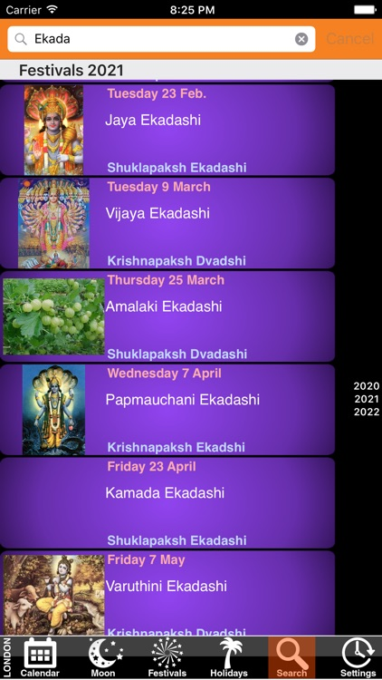India Panchang Calendar 2021 screenshot-4