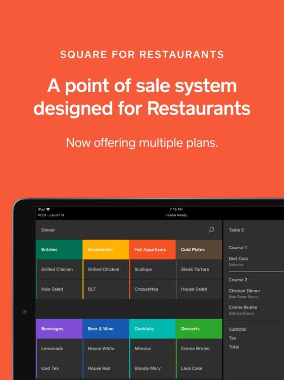 Square - Restaurants POS