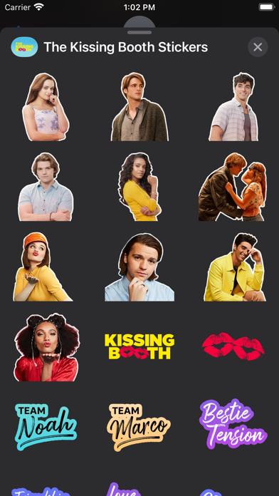 The Kissing Booth Stickers screenshot 6