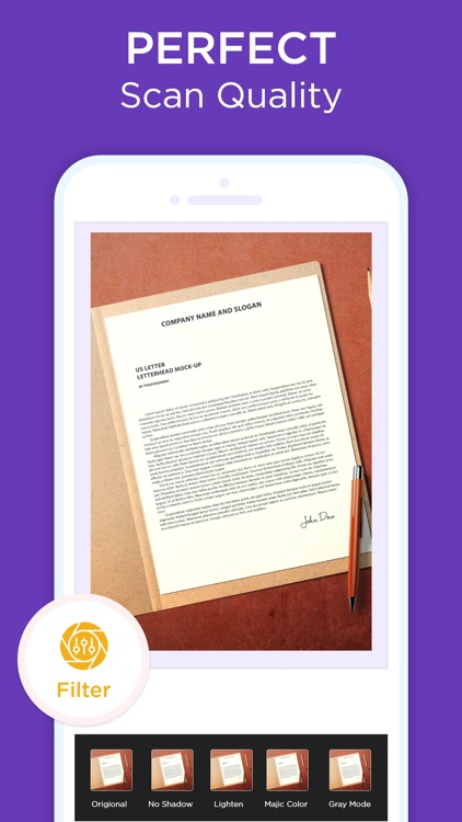 Scanner App - Scan Text & PDF screenshot-4