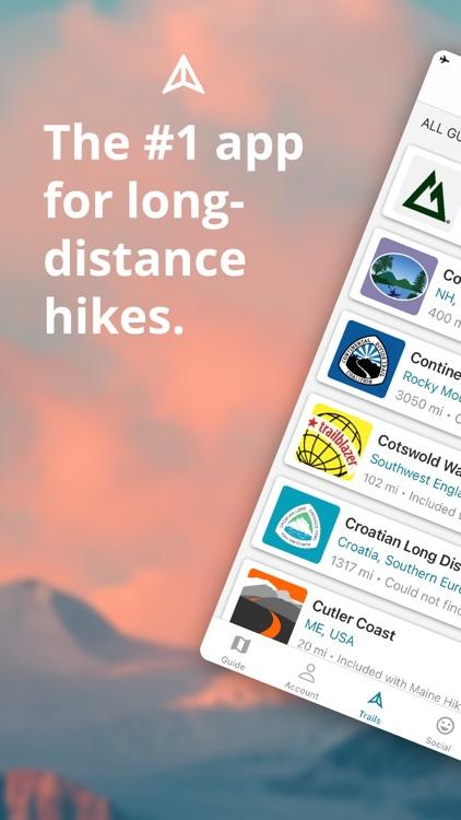 Hiking - Guthook Guides