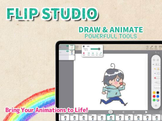 Ipad Screen Shot FlipStudio: Draw & Animate App 0