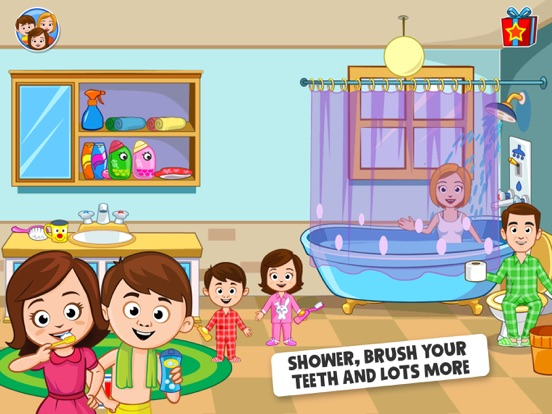 iPad Image of My Town - Play Doll Home Game