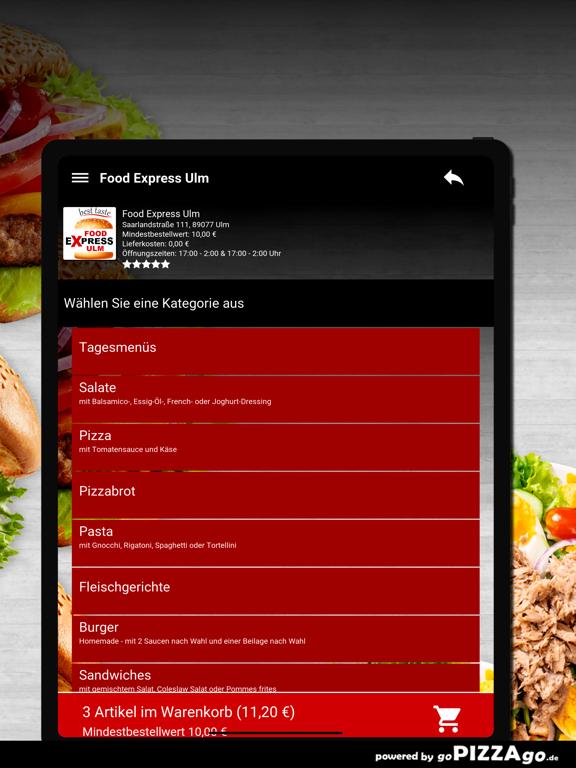Food Express Ulm Ulm screenshot 8