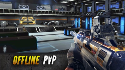 Screenshot from Sniper Fury