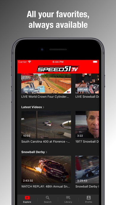 Speed51TV Screenshot