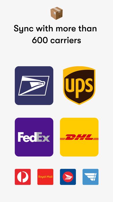 Shop: package & order tracker screenshot four